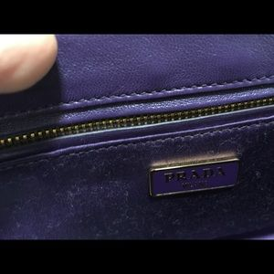 ae3ae49f42b2 Prada Bags - Prada Donna Floral Print Shoulder or Crossbody Bag